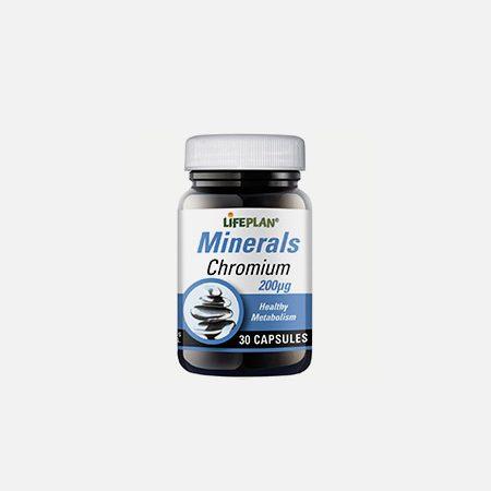 Chromium 200μg – 30 cápsulas – Lifeplan