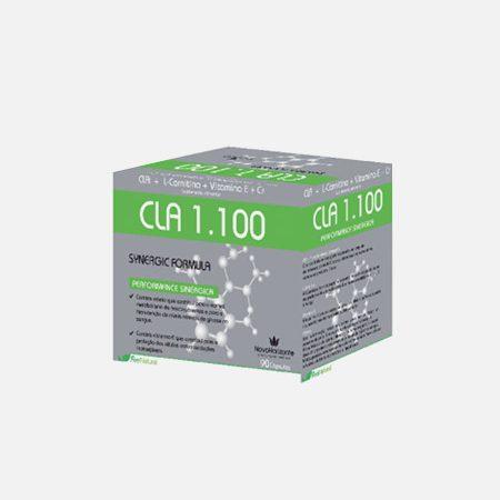 CLA 1100 Synergic Fórmula – 90 cápsulas – Novo Horizonte