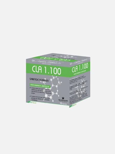 CLA 1100 Synergic Fórmula - 90 cápsulas - Novo Horizonte