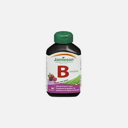 B Complex Mastigavel – 90 comprimidos – Jamieson