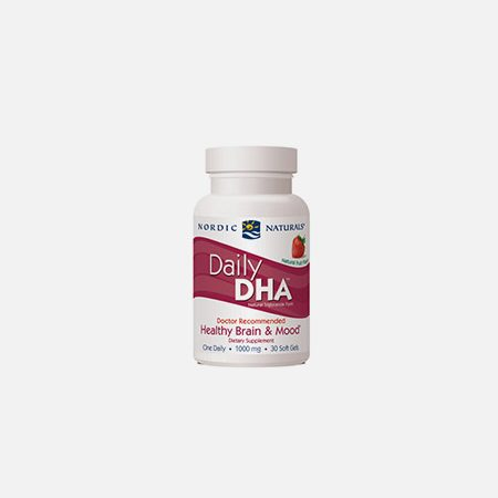 Daily DHA – 30 cápsulas – Nordic Naturals