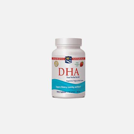 DHA – 90 cápsulas – Nordic Naturals