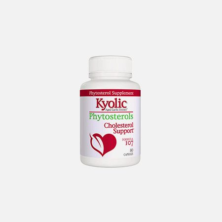 Fórmula 107 Phytosterols Cholesterol Support – 80 cápsulas – Kyolic