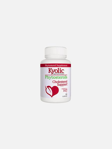 Fórmula 107 Phytosterols Cholesterol Support - 80 cápsulas - Kyolic