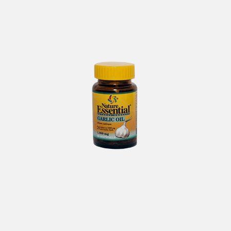 Garlic Oil 1000mg – 60 Cápsulas  – Natura Essential