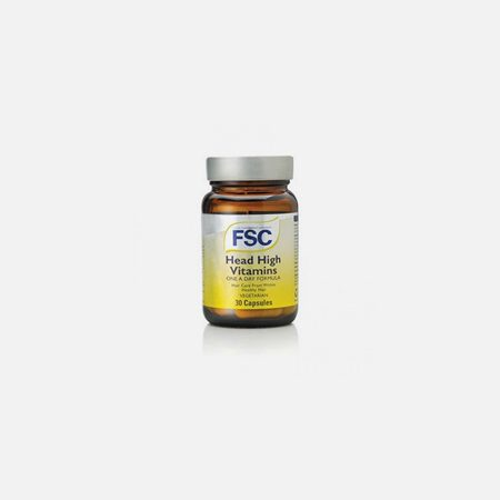 Head High Vitamins – 30 cápsulas – FSC