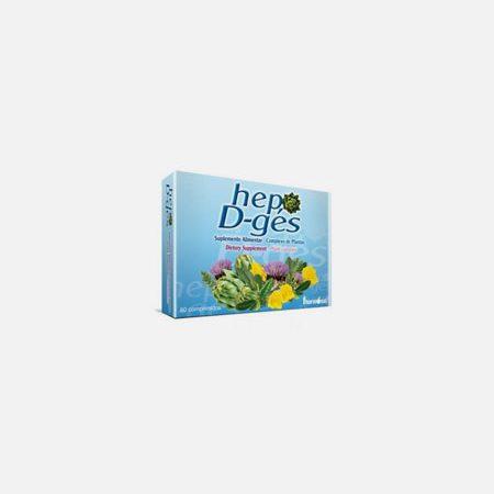 Hep D-ges – 60 comprimidos – Fharmonat