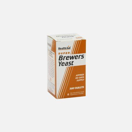 Levedura de Cerveja 300mg – 500 comprimidos – Health Aid