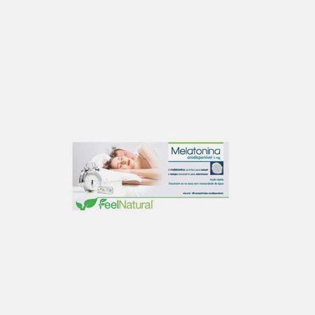 Feel Natural Melatonina Orodispersível 1.95mg 90 comprimidos – Novo Horizonte