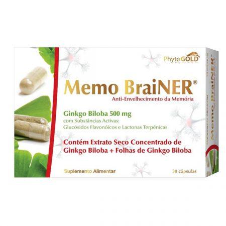 Memo Brainer – 30 cápsulas – Phytogold