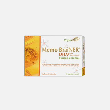 Memo Brainer DHA – 30 cápsulas – Phytogold
