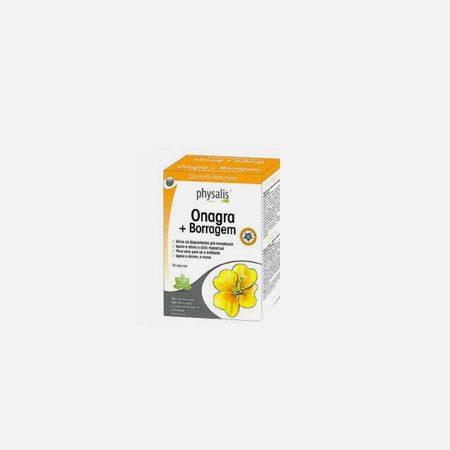 Physalis Onagra + Borragem – 60 cápsulas – Biocêutica