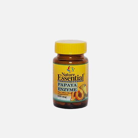 Papaya Enzyme 500mg – 60 comprimidos – Nature Essential