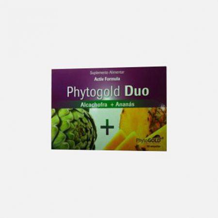 Duo Alcachofra + Ananás – 20 + 10 Ampolas – Phytogold