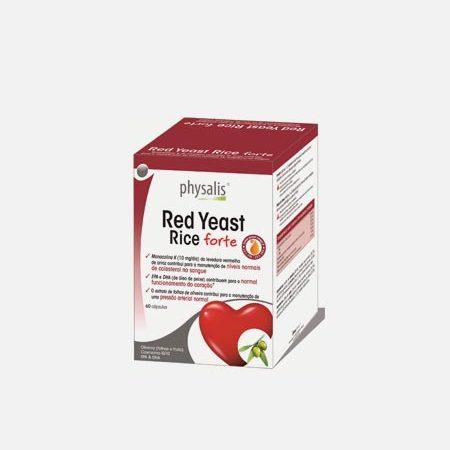 Physalis Red Yeast Rice Forte – 60 cápsulas – Biocêutica