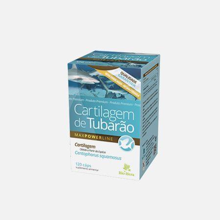 Cartilagem de tubarão – 120 cápsulas – Bio-Hera