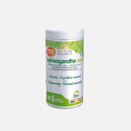 Ashwagandha 5000 – 90 cápsulas – Be-Life