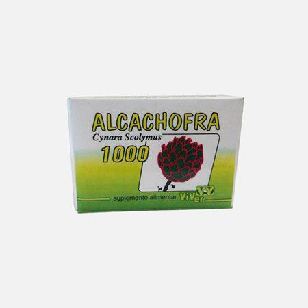 Alcachofra 1000mg – 30 comprimidos – Viver