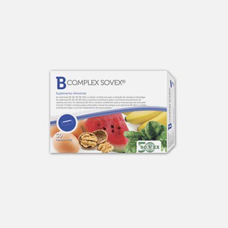 B- Complex – 30 Cápsulas – Sovex
