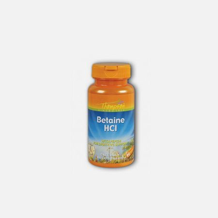 Betaine HCL – 90 comprimidos – Thompson