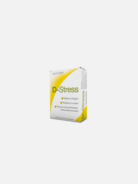 D-STRESS – SYNERGIA – 80 COMPRIMIDOS