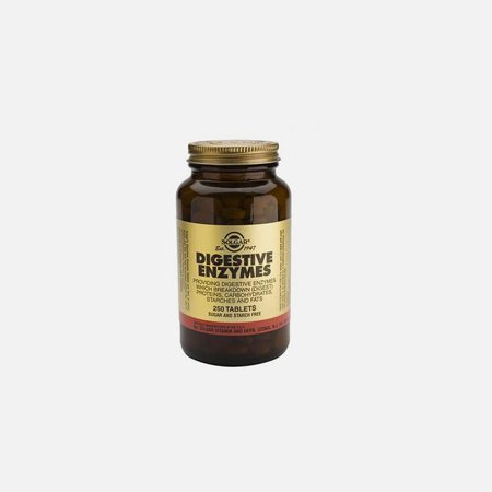 Enzimas Digestivas – 100 Comprimidos – Solgar