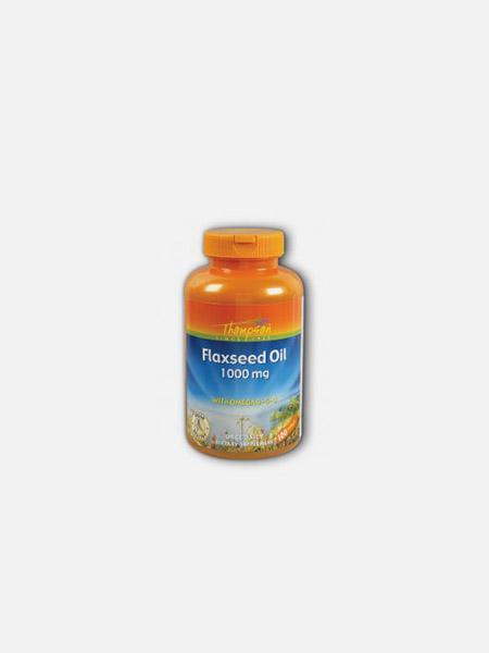 Flaxseed Oil 1000mg - 100 cápsulas - Thompson