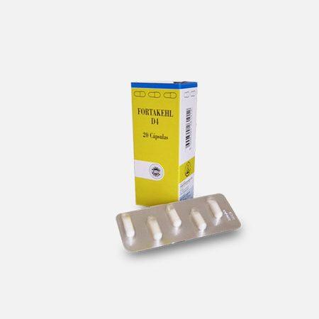 Fortakehl D4 – 20 cápsulas – Sanum Kehlbeck