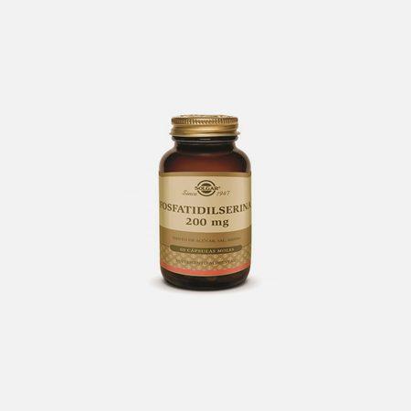 Fosfatidilserina 200mg – Solgar – 60 Cápsulas