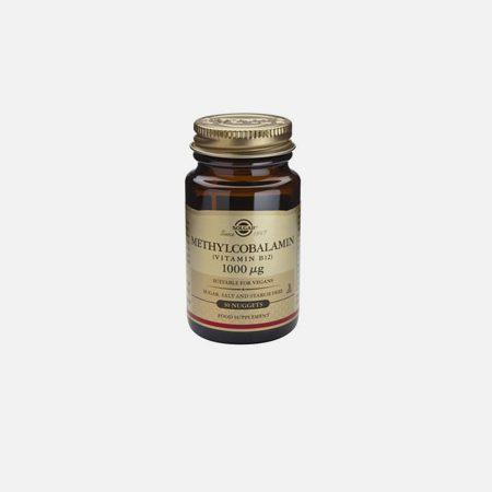 Vitamin B12 Methylcobalamine 1000mcg – 30 comprimidos – Solgar