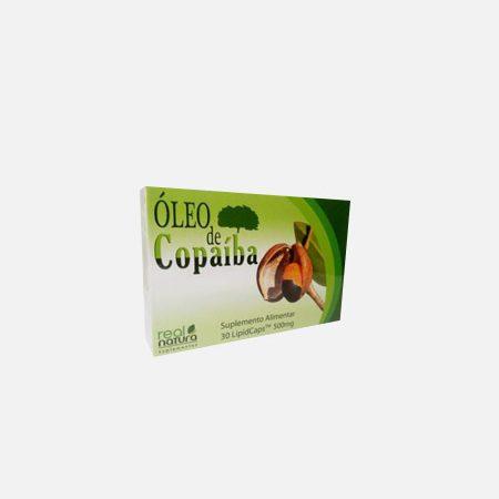 Dietetics Óleo de Copaiba 500mg – Real Natura – 30 cápsulas