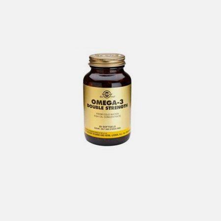 Omega-3 Double Strenght – 120 Cápsulas – Solgar