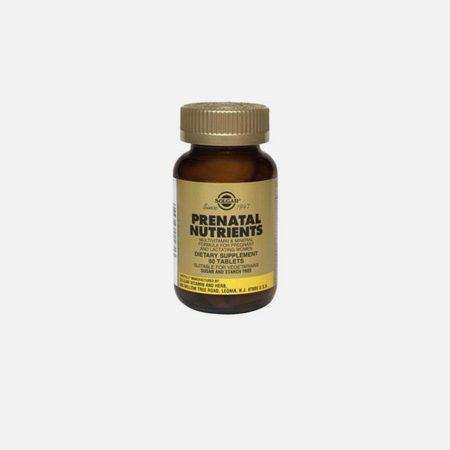 Prenatal Nutrients – 60 comprimidos – Solgar