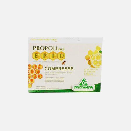 Epid Mel – Limão – 20 Comprimidos mastigáveis  – Specchiasol