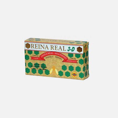 Reina Real 3D – 20 Ampolas – Novo Horizonte – Robis