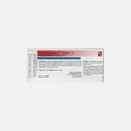 Rekin 11 – 10 Ampolas – Dr. Reckeweg
