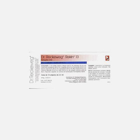 Rekin 13 – 10 Ampolas – Dr. Reckeweg