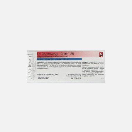 Rekin 55 – 10 Ampolas – Dr. Reckeweg