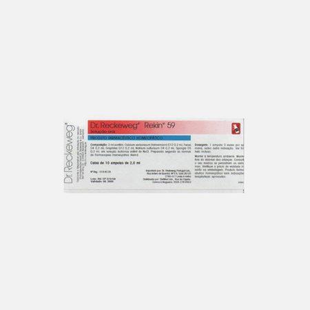 Rekin 59 – 10 Ampolas – Dr. Reckeweg