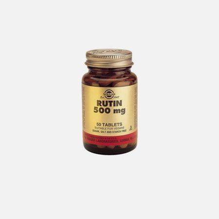 Rutin 500mg – 50 comprimidos – Solgar
