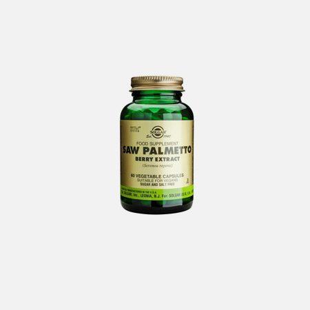 Saw Palmetto Opuntia Lycopene – 50 cápsulas – Solgar