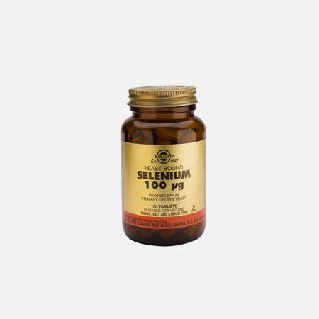 Selenium 100mcg – 100 comprimidos – Solgar