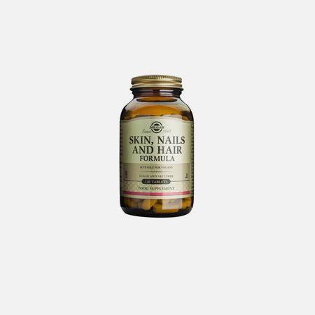 Skin, Nails and Hair Formula – 120 comprimidos – Solgar