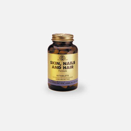 Skin, Nails and Hair Formula – 60 comprimidos – Solgar