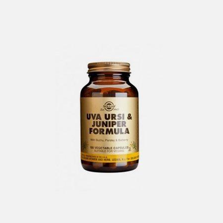 Uva Ursi Juniper Formula – Solgar – 100 Cápsulas