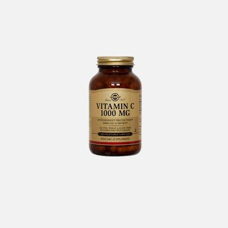 Vitamin C 1000mg with Rose Hips – 100 comprimidos – Solgar
