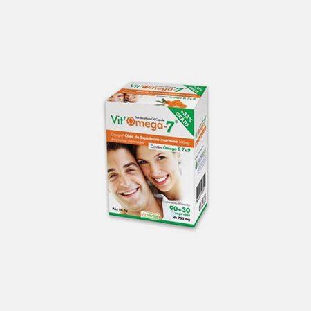 Vit'omega-7 500mg 90 + 30 capsulas – Vitherbal