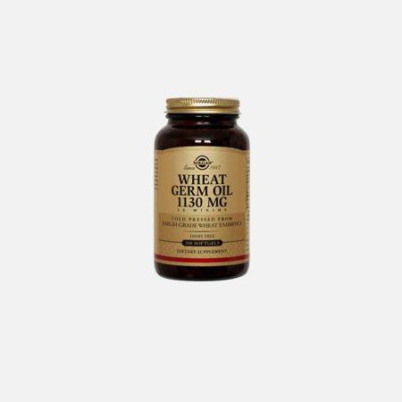 Óleo de Germen de Trigo – Solgar – 100 Cápsulas