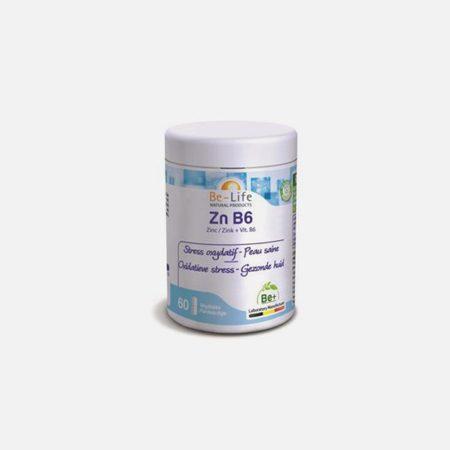 ZN B6 – Zinco + B6 60 cápsulas – Be-Life