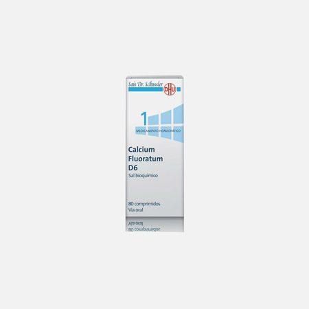Calcium Fluoratum D6 – 80 Comprimidos – DHU